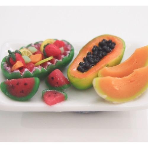 Workshop - Plate of Fruits display