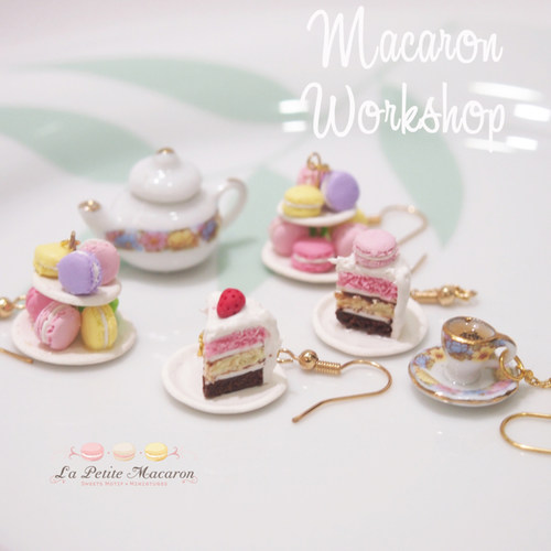 DEALS for 2 pax - Miniature Food Workshop - Sweet pastries workshop