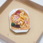 Online lesson for covid19 activity make Miniature food Hokkien Mee
