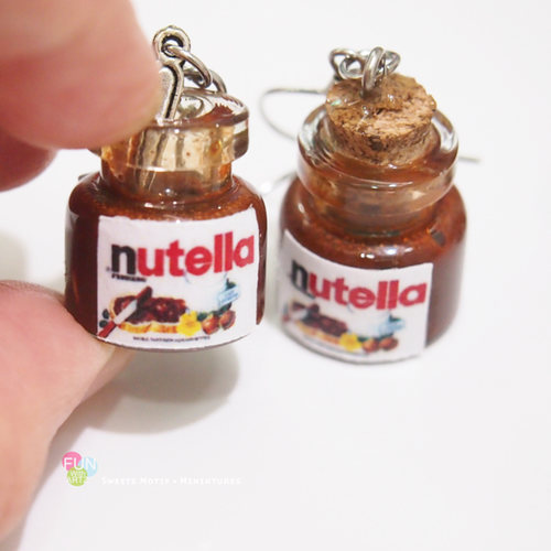 Jewelry - Nutella Earrings
