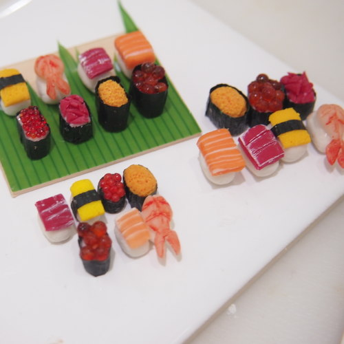 Workshop - Miniature Food Sculpting Nigirizushi (Nigiri Sushi)