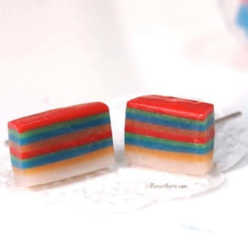 Jewelry - Rainbow Lapis Earring Studs