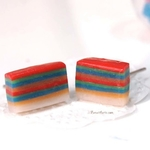 Jewelry - Rainbow Lapis Earring Studs