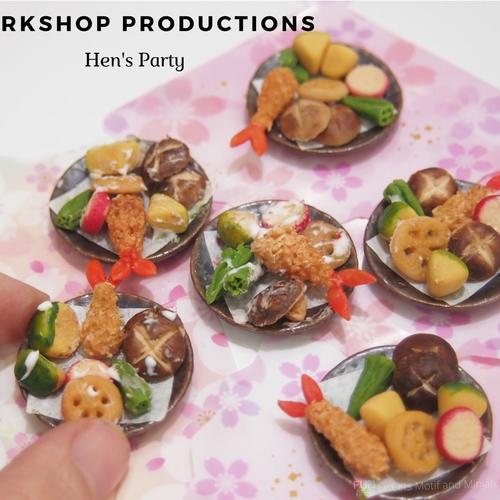 Workshop - Miniature Tempura Set