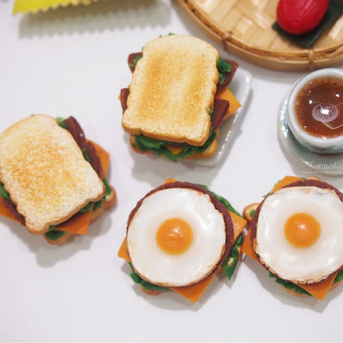 DEALS for 3 pax- Miniature Food Workshop - Polymer Clay sandwich making