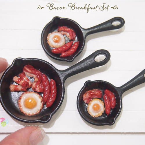 Workshop - Miniature Food Sculpting Bacon Breakfast Pan