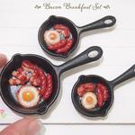 Workshop - Miniature Food Sculpting Bacon Breakfast Pan
