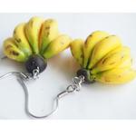 Jewelry - Banana Bunch Earrings