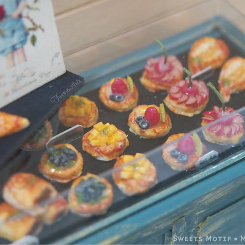 Miniature Food Workshop- Tart set