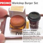 Workshop-Burger Set