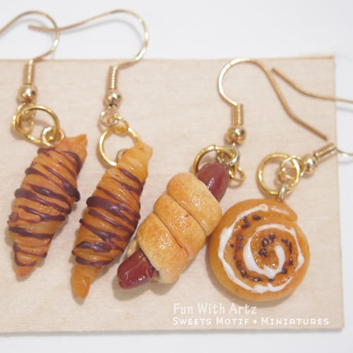 DEALS - Workshop - Miniature Bread Earrings