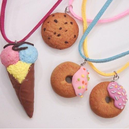 Workshop - Polymer Clay Ice Cream, Donut and Cookie charm