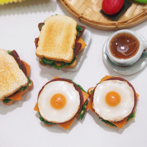 Miniature Egg Sandwich Set