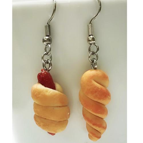 DEALS - Miniature Food - Bread Earrings Workshop