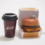 Polymer clay Burger Miniature macdonalds