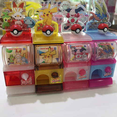Toy - Miniature Pokemon Original Gashapon Machine