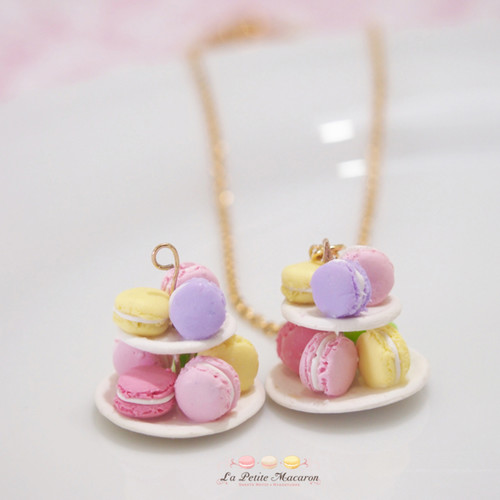 DEALS for 2 pax - Petite Macaron Necklace Workshop