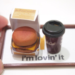 DEALS-workshop-Miniature Clay Burger Set