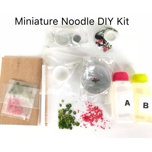 DIY Craft Kit for Miniature Food Craft