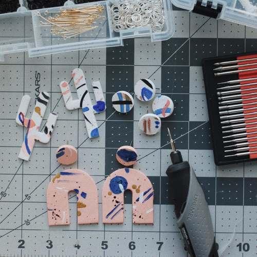 Virtual Craft Workshop - Clay Jewellery workshop