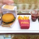 Workshop-Miniature Clay Burger Set
