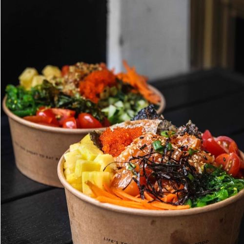 Catering - Standard bowl from A poke Theory