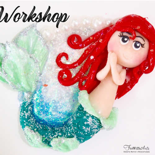Polymer Clay Mermaid Workshop