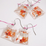 Jewelry-Fish Earrings waterproof and non toxic