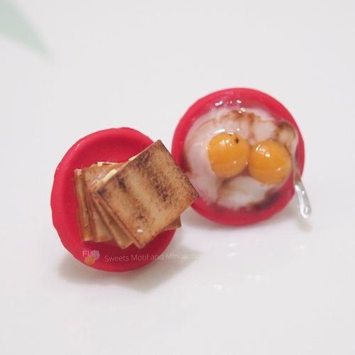 Jewelry - Egg & Toast Earring studs