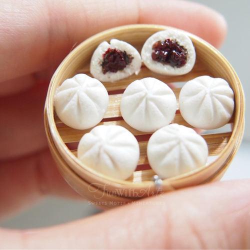 Miniature Cha Siew Bao