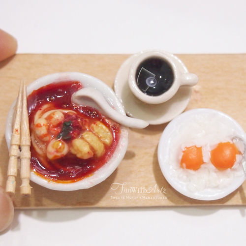 Miniature Singapore Laksa Set Workshop