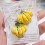 Jewelry - Banana Bunch Earrings