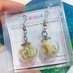 Mahjong Globe Stainless Steel Earrings