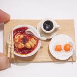 Miniature Food-Singapore Laksa