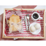 Dollhouse- Miniature Breakfast set