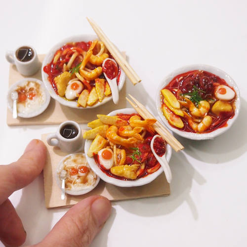 Miniature Food- Singapore Laksa Set Workshop