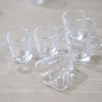 Miniatures - 10 Plastic Cups for Dollhouse Display
