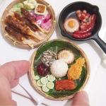 Clay Food -Nasi lemak-Miniature food workshop