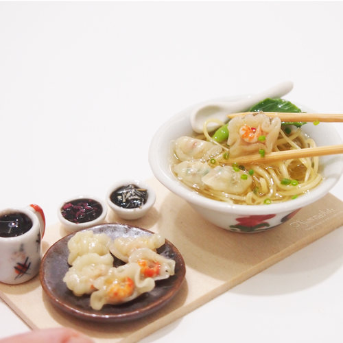 Miniature Dumplings Noodle Set