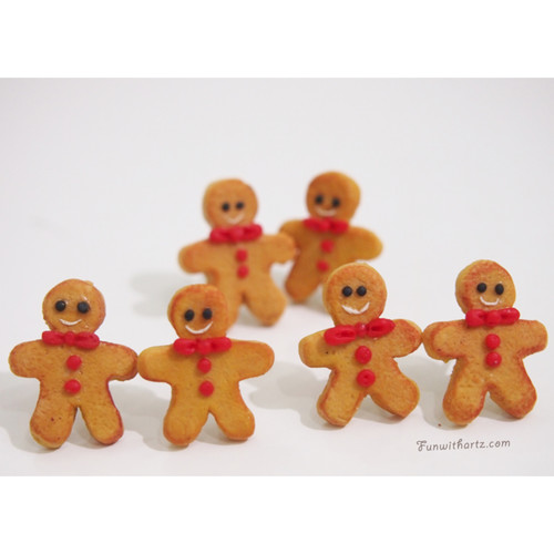 Christmas Gift-Gingerbread Man Earrings