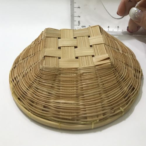 Dollhouse Rattan Basket Tray