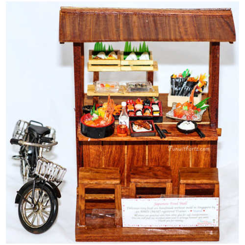 Miniature Japanese Food Stall - Lati yellow /Pukifee