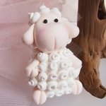 Furry Sheep Topper