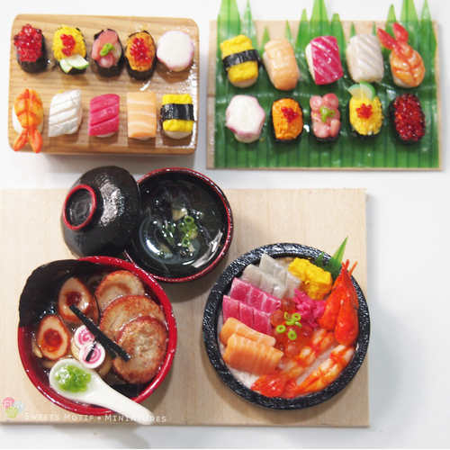Workshop Package - Miniature Food Sculpting Japanese Set