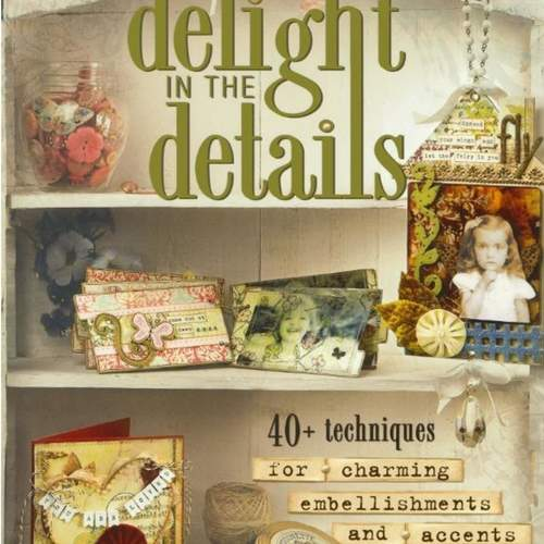 Delight in Details-Book for scrapbooking