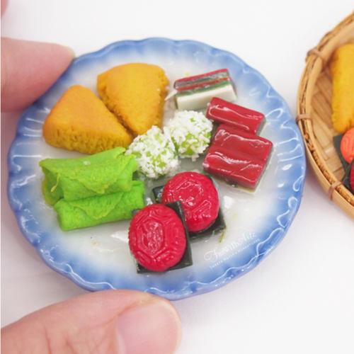 Workshop - Miniature Nonya Kueh - 4 pieces Kueh