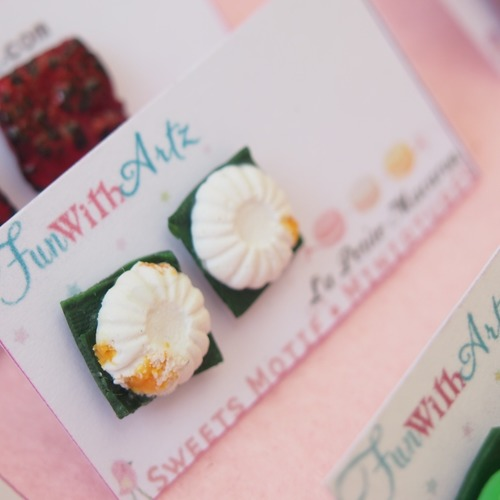 Jewelry - Kueh TuTu Earrings Stud
