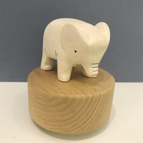Wooden TLAB Elephant Music Box
