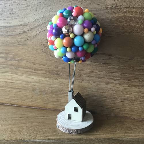 Mixed Color Balloon House