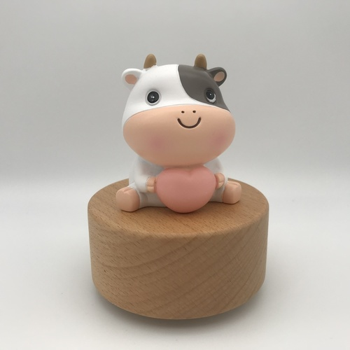 Lovely Cow Music Box